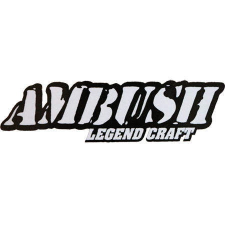Decal Ambush Boat White