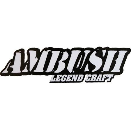 Decal Ambush Boat White