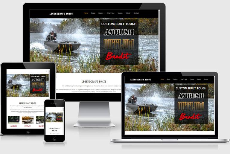 Legendcraft New Website Launch