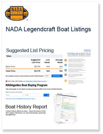 Nada Legendcraft Boat Listing
